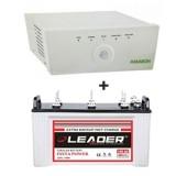Amaron 675VA + Leader LSTJ 14500 (145Ah)