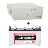 AMARON 880 Sine Wave Home Ups + Leader LSTJ 14500 (145Ah)
