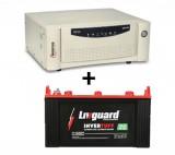 Livguard IT 1536 (150 Ah) + Microtek UPS SEBz Sine Wave 900 VA
