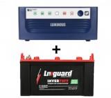 Livguard IT 1536 (150 Ah) + Luminous Eco Watt 850 VA
