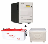 Su-Kam 2.5KVA Sine Wave Home Ups + SIG 150Ah Battery 48V