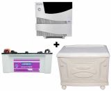 Luminous 2.5 KVA Sine Wave Home Ups + Le 19000 Plus 160Ah Battery 48