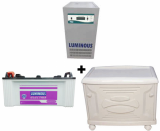 Luminous 10 KVA Sine Wave Home UPS + LE 19000 Plus 160AH Battery