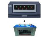 Luminous Eco Watt 650 or 665 + Sfsonic (Exide) Stan Master SM8500 (150Ah)