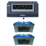 Luminous Eco Watt 1500VA  + Sfsonic (Exide) Stan Master SM 8500 (150Ah)