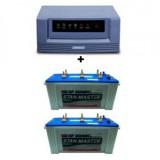 Luminous Eco Watt Sine Wave 1500VA + Sfsonic Stan Master SM 8500 (150Ah)