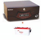 Su-Kam Shark 900VA Home Ups Sine Wave+ SIG 150Ah Battery