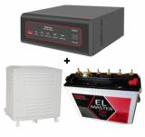 EXIDE XTATIC SINE WAVE 850VA + EL Master (150Ah) Battery