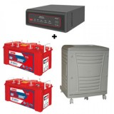 EXIDE XTATIC SINE WAVE 1500VA + Inva Red 500 (150Ah) Battery