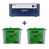 Luminous Eco Watt 1500 Home UPS + AMARON CRTT (180Ah)