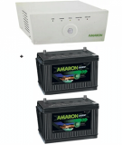 Amaron Sine Wave 1400 Home Up+CR-I1350D04R 135AH