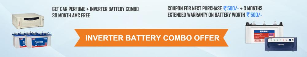 Inverter+Battery Combo